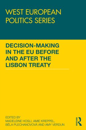Decision making in the EU before and after the Lisbon Treaty book cover