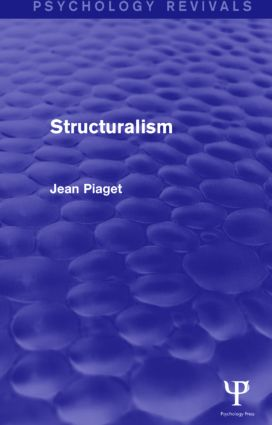 Structuralism: 1st Edition (Paperback) book cover