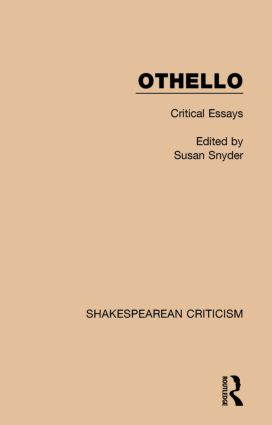 Othello: Critical Essays, 1st Edition (Paperback) book cover