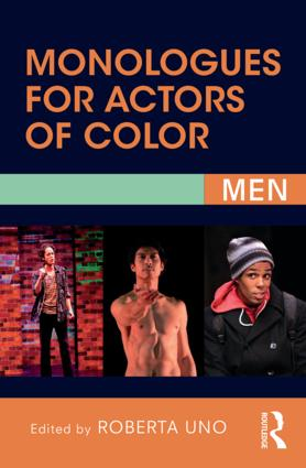 Monologues for Actors of Color: Men, 2nd Edition (Paperback) book cover