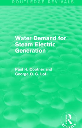 THE NATURE OF WATER USE BY STEAM ELECTRIC UTILITIES