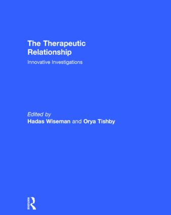 The Therapeutic Relationship: Innovative Investigations book cover