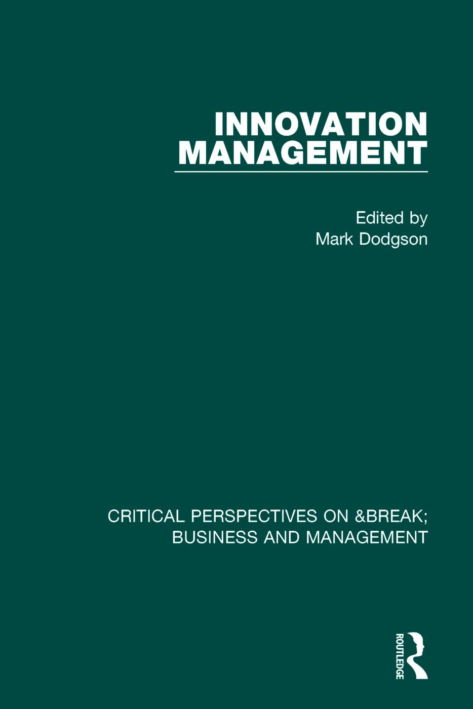 Innovation Management vol I book cover