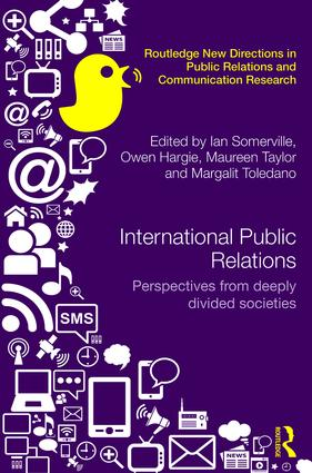 International Public Relations: Perspectives from deeply divided societies (Hardback) book cover