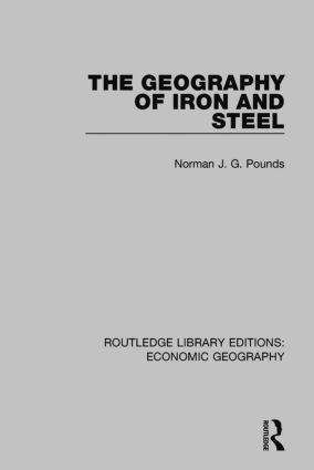 The Geography of Iron and Steel book cover