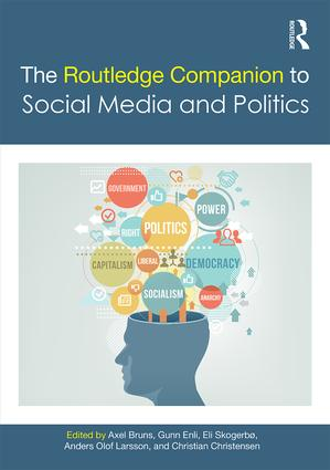The Routledge Companion to Social Media and Politics book cover