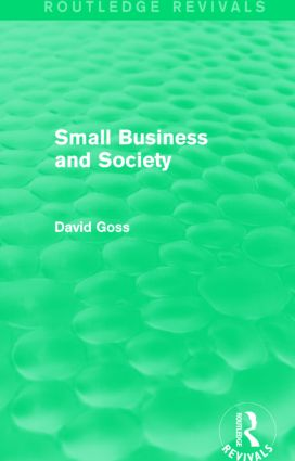Small Business and Society (Routledge Revivals): 1st Edition (Paperback) book cover