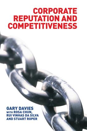 Corporate Reputation and Competitiveness: 1st Edition (Paperback) book cover