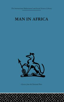 Man in Africa: 1st Edition (Paperback) book cover