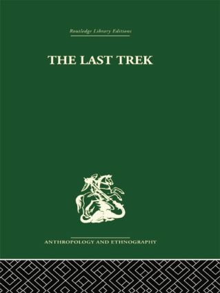 The Last Trek: A Study of the Boer People and the Afrikaner Nation, 1st Edition (Paperback) book cover