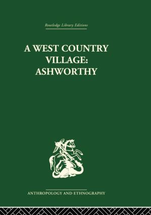 A West Country Village Ashworthy: 1st Edition (Paperback) book cover