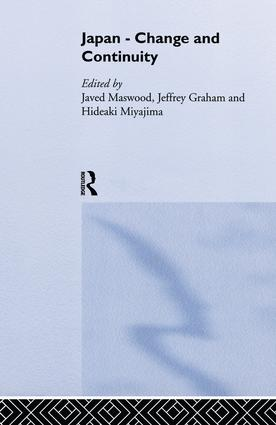Japan - Change and Continuity: 1st Edition (Paperback) book cover