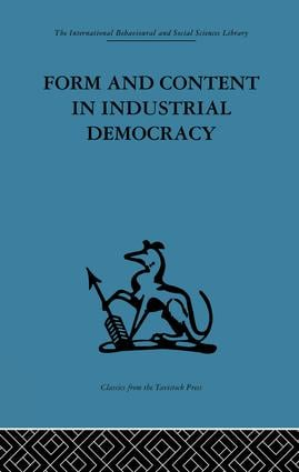Form and Content in Industrial Democracy