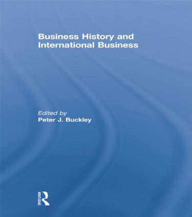 Business History and International Business: 1st Edition (Paperback) book cover