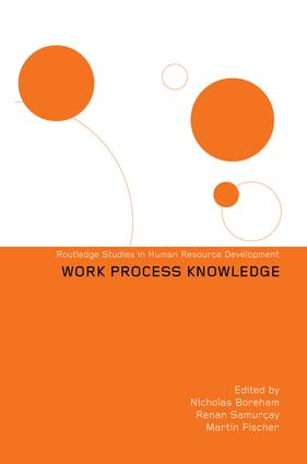 Work Process Knowledge: 1st Edition (Paperback) book cover