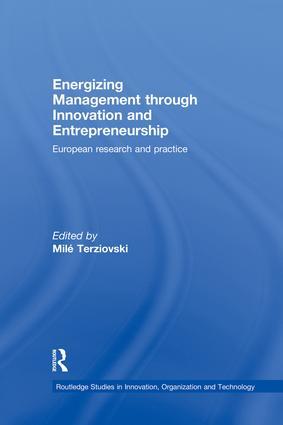 Energizing Management Through Innovation and Entrepreneurship