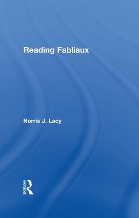Reading Fabliaux book cover