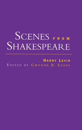 Scenes from Shakespeare: 1st Edition (Paperback) book cover
