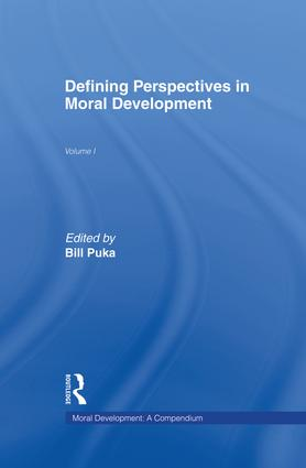 Defining Perspectives in Moral Development: 1st Edition (Paperback) book cover