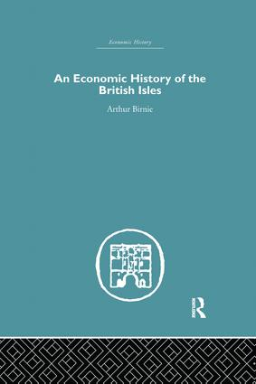 An Economic History of the British Isles: 1st Edition (Paperback) book cover