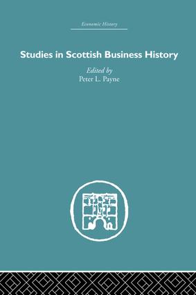 Studies in Scottish Business History: 1st Edition (Paperback) book cover