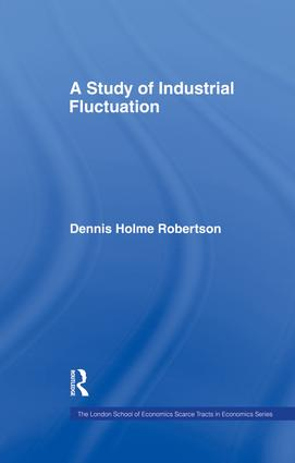 Study Indust Fluctuations Lse: 1st Edition (Paperback) book cover