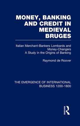 Money Bank&Cred Med Bruges V2: 1st Edition (Paperback) book cover