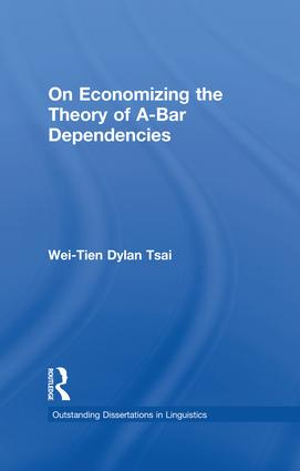 On Economizing the Theory of A-Bar Dependencies book cover