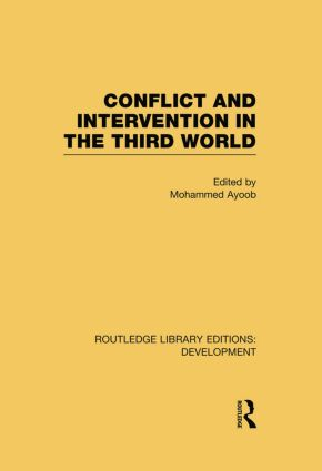 Conflict Intervention in the Third World (Paperback) book cover