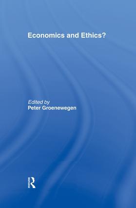 Economics and Ethics?