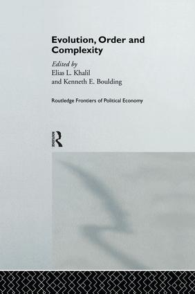 Evolution, Order and Complexity: 1st Edition (Paperback) book cover
