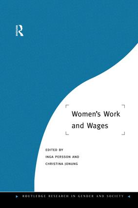 Women's Work and Wages: 1st Edition (Paperback) book cover