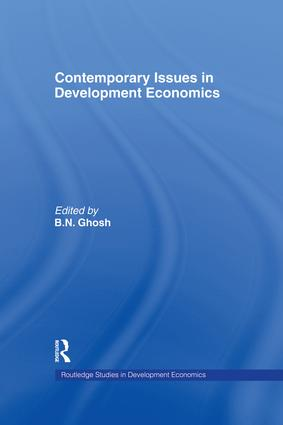 Contemporary Issues in Development Economics: 1st Edition (Paperback) book cover