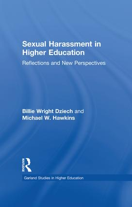 Sexual Harassment and Higher Education: Reflections and New Perspectives book cover