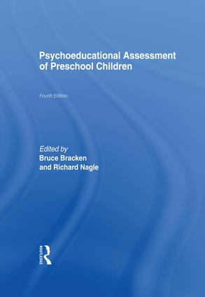 Psychoeducational Assessment of Preschool Children: 4th Edition (Paperback) book cover