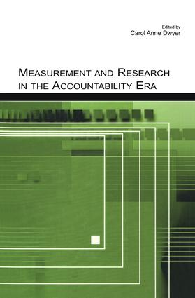 Measurement and Research in the Accountability Era: 1st Edition (Paperback) book cover