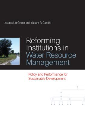Reforming Institutions in Water Resource Management: Policy and Performance for Sustainable Development, 1st Edition (Paperback) book cover