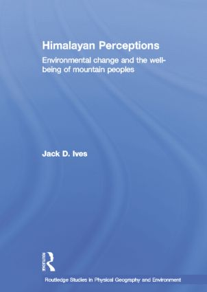 Himalayan Perceptions: Environmental Change and the Well-Being of Mountain Peoples, 1st Edition (Paperback) book cover