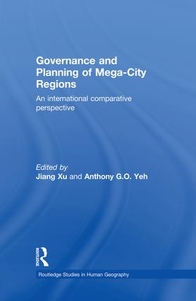 Governance and Planning of Mega-City Regions: An International Comparative Perspective (Hardback) book cover