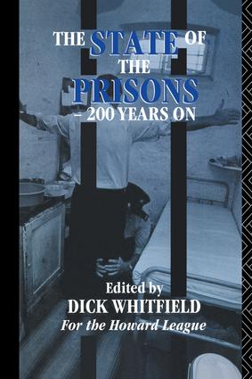 The State of the Prisons - 200 Years On: 1st Edition (Paperback) book cover