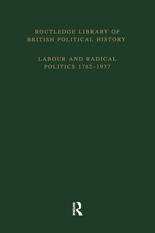 Routledge Library of British Political History