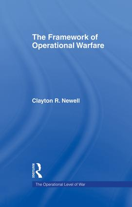 The Framework of Operational Warfare: 1st Edition (Paperback) book cover