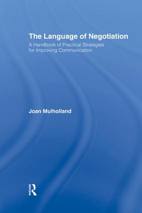 The Language of Negotiation