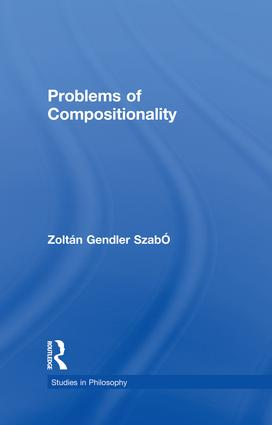 Problems of Compositionality (e-Book) book cover