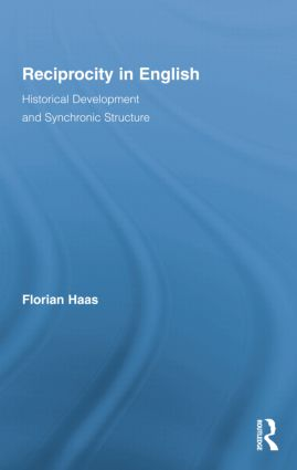 Reciprocity in English: Historical Development and Synchronic Structure book cover