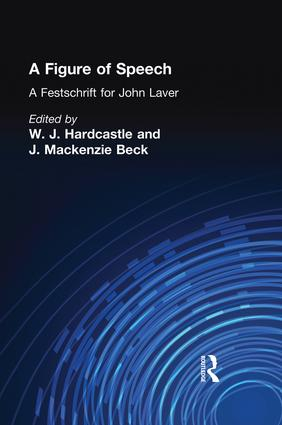 A Figure of Speech: A Festschrift for John Laver (e-Book) book cover