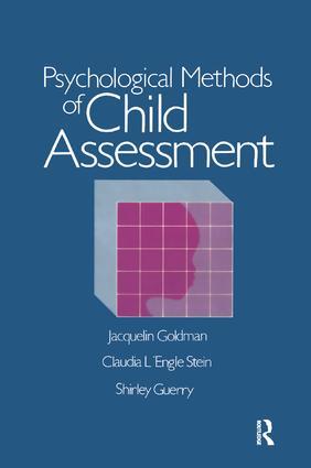 Psychological Methods Of Child Assessment book cover