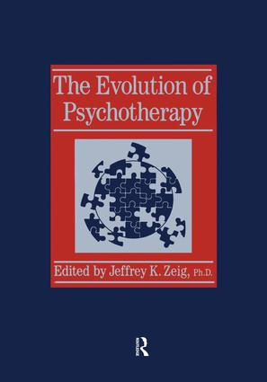Evolution Of Psychotherapy..........: The 1st Conference, 1st Edition (Paperback) book cover