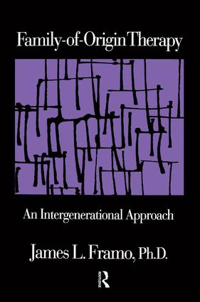 Family-Of-Origin Therapy: An Intergenerational Approach, 1st Edition (Paperback) book cover