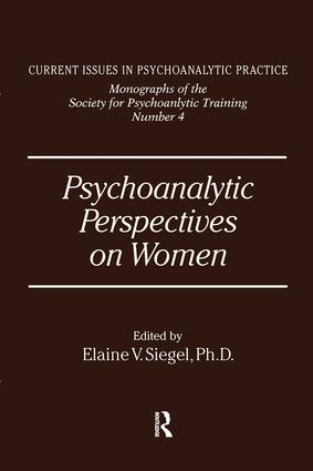 Psychoanalytic Perspectives On Women
